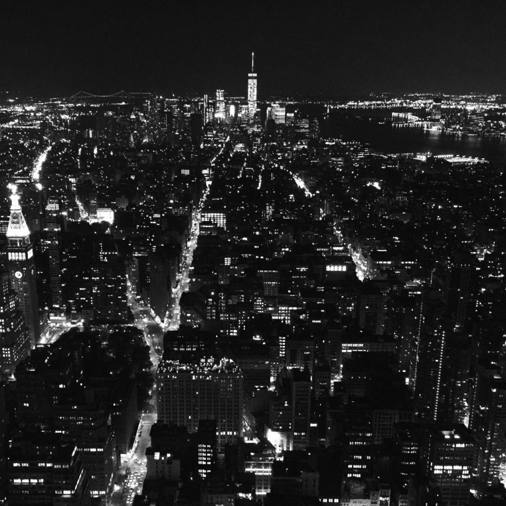 Night Shot of New York City